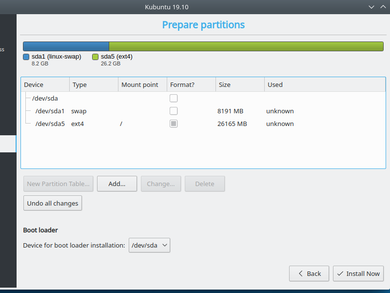 5.5.2. Add partitions